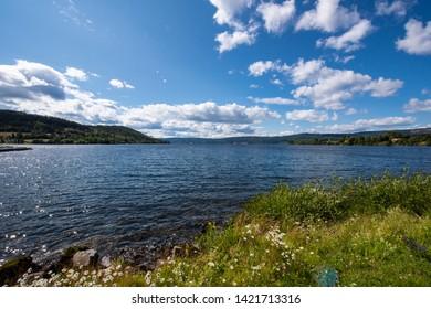 Randsfjorden in Norway / Scandinavia