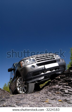 Range Rover V 8 Sport Stock Photo (Edit Now) 3224183 - Shutterstock