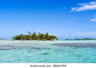 Rangiroa, in French Polynesia, is the largest atoll in the Tuamotus archipelago. A notable site is the famous Blue Lagoon, which is a smaller lagoon formed on the southwestern edge of Rangiroa.