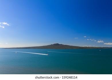 Rangitoto Island and Hauraki Gulf, Auckland, New Zealand