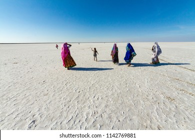 Rann of Kutch, District Kutch, Gujarat, India.