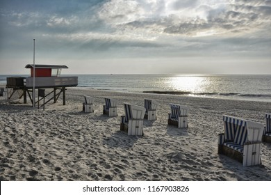 Rantum beach on the island of Sylt, Germany