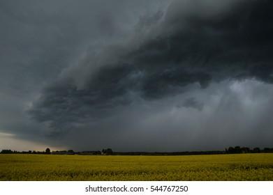 Rape and storm