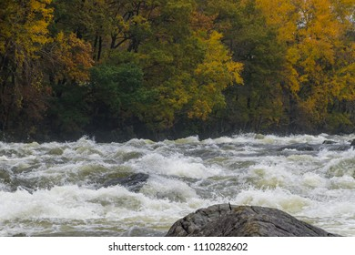 Rapid stream Norway river fall water