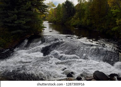 Rapids on the Amable du Fond river north of Eau Claire Gorge Calvin Northern Ontario