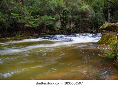 Rapids on the Kangaroo River at Belmore Falls, NSW, Australia