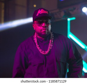 Rapper BIG BOI - Tee Up Atlanta at the College Football Hall of Fame in Atlanta Georgia - USA , September 17th 2018- The Tour Championship PGA Tour golfers