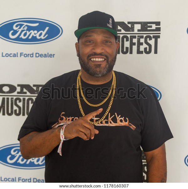Rapper Bun B Performs On Stage Stock Photo (Edit Now) 1178160307