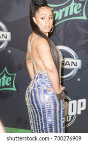 Rapper CARDI B attends the 2017 BET HIP-HOP AWARDS red carpet on Friday, October 6th, 2017 at the FILLMORE MIAMI BEACH AT THE JACKIE GLEAN THEATER - USA