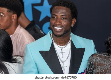 Rapper Gucci Mane attends the 2017 BET Awards at Microsoft Theater on June 25th, 2017 in Los Angeles, California - USA