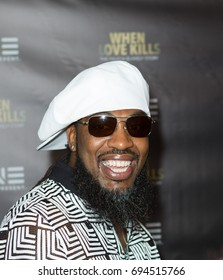"""Rapper Pastor Troy TV One Premiere of """" WHEN LOVE KILLS """" on Wednesday, August 9, 2017 at the Regal Atlantic Station in  Atlanta, Georgia - USA"""