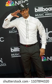 Rapper T. I attends the Red Carpet at the 2018 Billboards Music Awards at the MGM Grand Arena in Las Vegas, Nevada USA on May 20th 2018