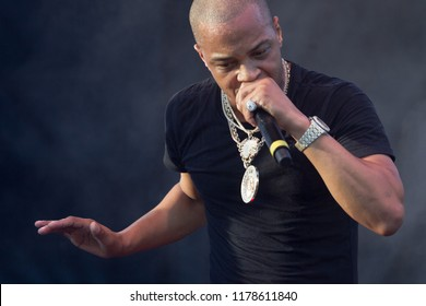 Rapper T. I. On stage at the One Music Fest 2018 in Central Park Atlanta Georgia - USA on September 8th/ 9th 2018