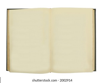 Rare Book with Blank Pages for copy