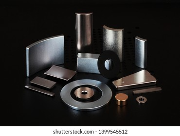 Rare earth magnet parts group