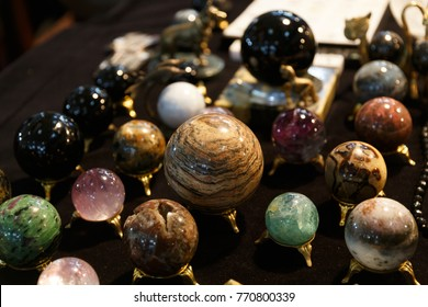 rare minerals for the work of the psychic