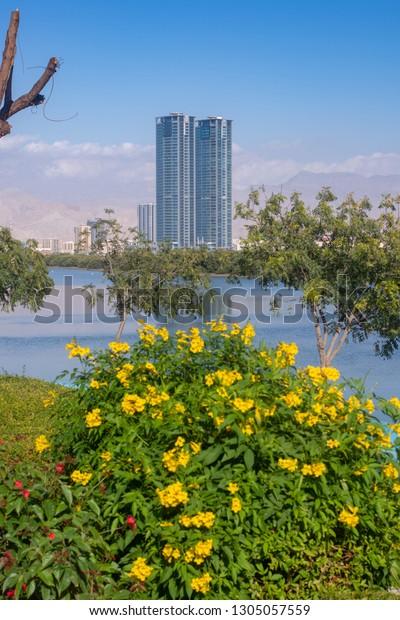 Ras Al Khaimah Rakunited Arab Emirates Stock Photo (Edit Now
