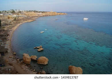 The Ras Um Sid beach in Habada, Sharm el Sheikh, Egypt.