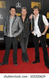 Rascal Flatts at the 2009 American Music Awards Arrivals, Nokia Theater, Los Angeles, CA. 11-22-09