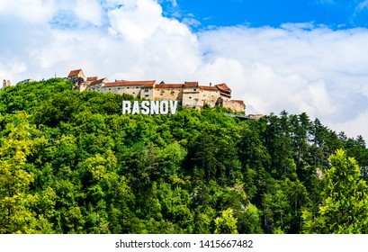 Rasnov, Brasov County, Transylvania, Romania: The Rasnov  Citadel built on a hill between 1211 and 1225, during the rule of Teutonic Knights in Burzenland.