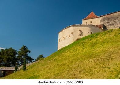 Rasnov Castle in Rasnov, Romania