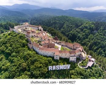 Rasnov Fortress in Brasov Romania