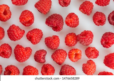 raspberries as a background, healthy food concept