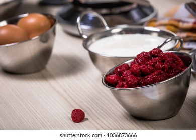 raspberries for baking