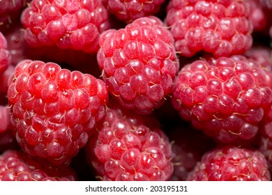 Raspberries can be used as background