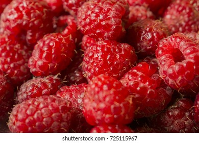 raspberry background lies on top of each other