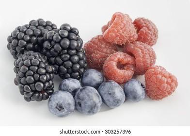raspberry blackberry blueberry