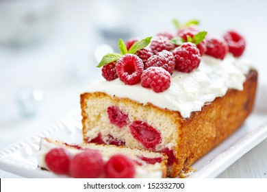 Raspberry Cake for holidays