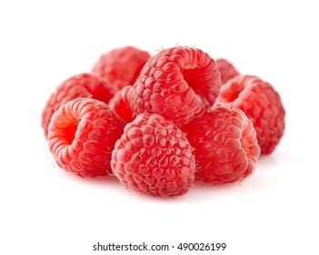 Raspberry in closeup