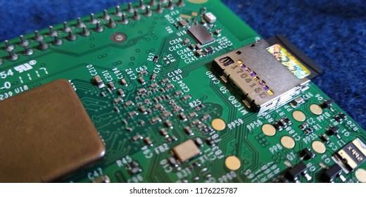 Raspberry Pi Mini Computer Background
