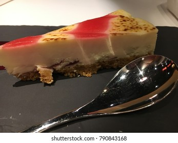 Raspberry and White Chocolate Cheesecake, Food and Drink