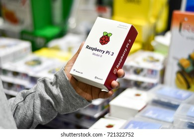 The Rastberry Pi 3 for learners in the Digital Thailand Big Bang, September 2017 in Thailand.