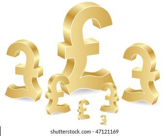 (raster image of vector) lira background