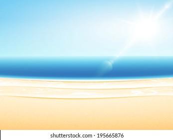 Cartoon sandy beach images stock photos vectors shutterstock raster sandy sea beach summer relax set voltagebd Choice Image