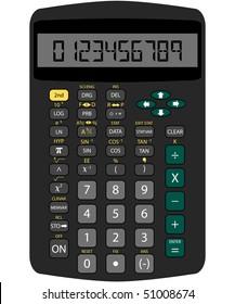 Raster Scientific Calculator