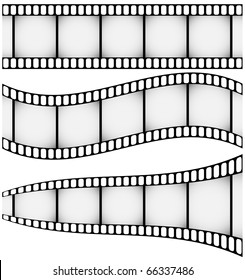 Raster Set of Three Filmstrips