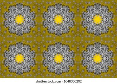Flower Stickers Mehndi : Tattoo mehndi stock images royalty free vectors
