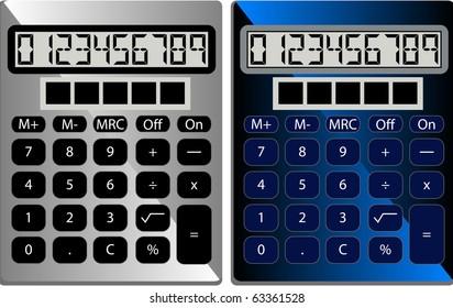 Raster Standard Calculators