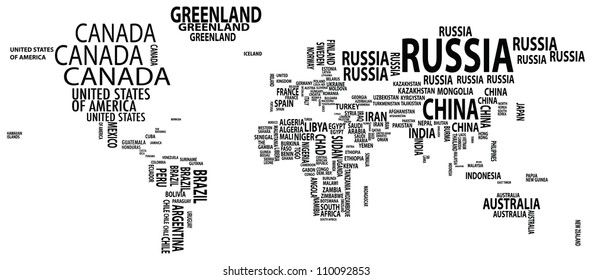 World map countries name text typography vector de stock452118016 raster version of worldmap nations gumiabroncs Gallery