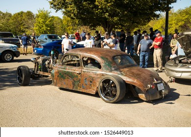Rat Rod at cars and coffee Franklin Tennessee Williamson county 10/5/2019