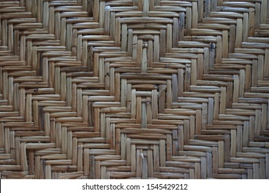 Ratan wood pattern texture background.