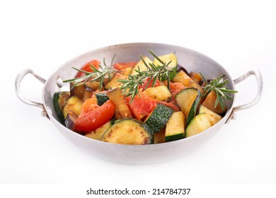 ratatouille, grilled vegetables