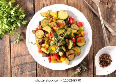 ratatouille, mixed stew vegetable