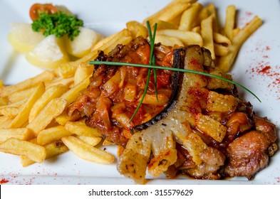ratatouille slices