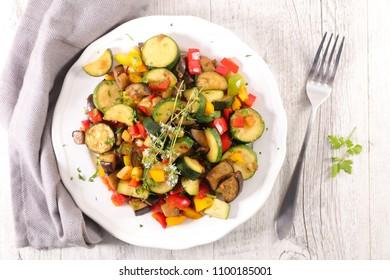 ratatouille, vegetable stew