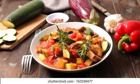 ratatouille,healthy vegetarian meal